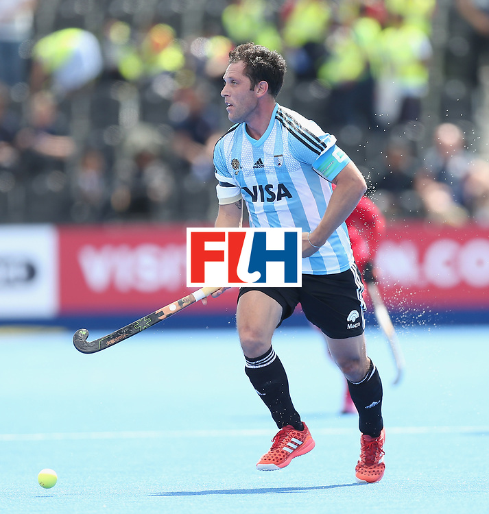 LONDON, ENGLAND - JUNE 15:  Pedro Ibarra during the Hero Hockey World League Semi Final match between Korea and Argentina at Lee Valley Hockey and Tennis Centre on June 15, 2017 in London, England.  (Photo by Alex Morton/Getty Images)