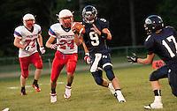 Friday Night Football Merrimack Valley High School versus Trinity High School in Concord, NH September 2, 2011.  (Karen Bobotas/for the Concord Monitor)