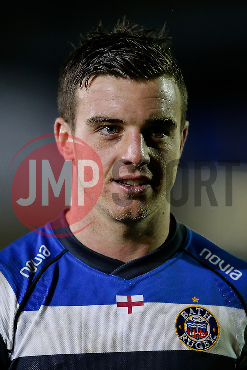 Bath Fly-Half George Ford looks on - Photo mandatory by-line: Rogan Thomson/JMP - 07966 386802 - 12/12/2014 - SPORT - RUGBY UNION - Bath, England - The Recreation Ground - Bath Rugby v Montpellier Herault Rugby - European Rugby Champions Cup Pool 4.