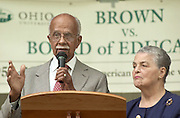 16474Brown vs. Board of Education 50th Anniversary: Proclamation @ Memorial Aud...Donald and Marian Spencer