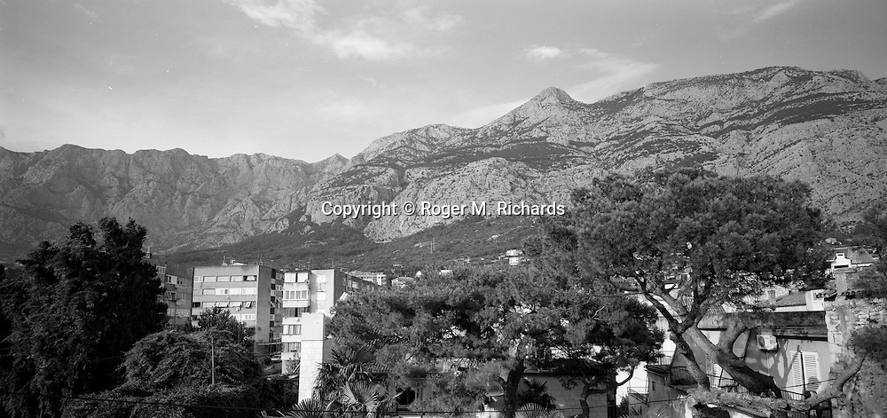 Makarska, along the Dalmatian coast of Croatia.. July 2008.