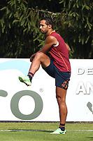 Mehdi Benatia <br /> Riscone (Brunico) 13.7.2013 <br /> Football Calcio 2013/2014 Serie A<br /> Ritiro precampionato AS Roma <br /> As Roma pre season training<br /> Foto Gino Mancini / Insidefoto