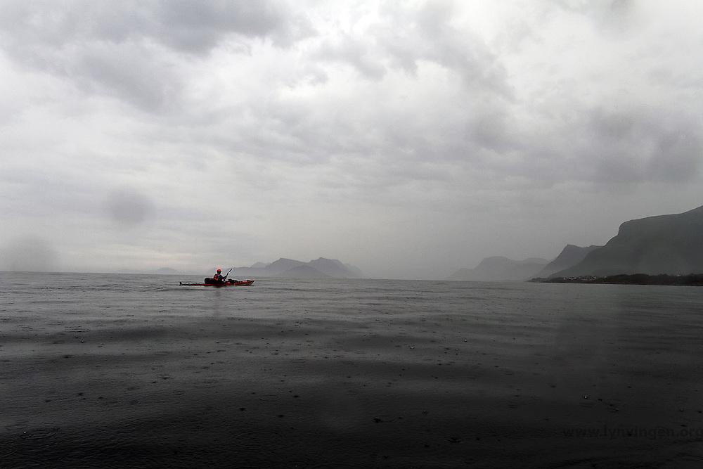 Rainy weather in Romdalsfjorden - regnvær i Romdalsfjorden