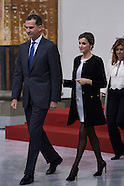 120215 Spanish Royals attend the Delivery Gold Medals of Merit in Fine Arts 2014