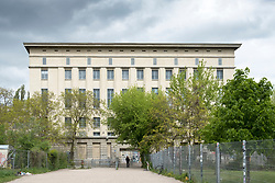 Daytime exterior view of Berghain nightclub in Berlin, Germany