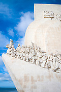 Monument to Henry the Navigator and fellow travellers in Lisbon, Portugal