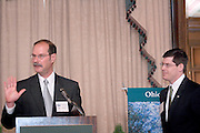 1766423rd Ohio University State Government Alumni Luncheon in Columbus..Mark Weinberg, Director, Voinovich Center..& Michael Adelman