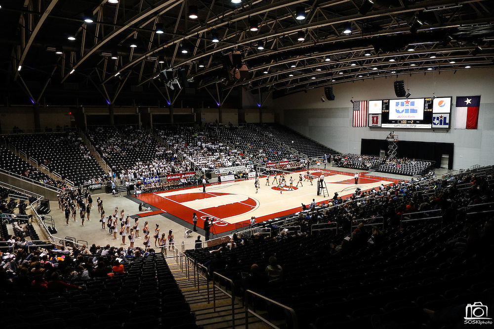 Lovejoy battles Cedar Park in the Class 4A semi-finals at the Curtis Culwell Center in Garland, Texas, on November 15, 2012.  (Stan Olszewski/The Dallas Morning News)