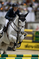 Michaels-Beerbaum Meredith, GER, Fibonacci 17<br /> Credit Suisse Grand Prix<br /> CHI de Genève 2016<br /> © Hippo Foto - Dirk Caremans<br /> 08/12/2016