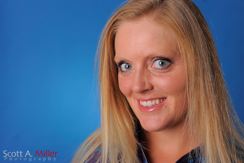 Benedikte Grotvedt during a portrait session prior to the second stage of LPGA Qualifying School at the Plantation Golf and Country Club on Sept. 25, 2011 in Venice, FL...©2011 Scott A. Miller