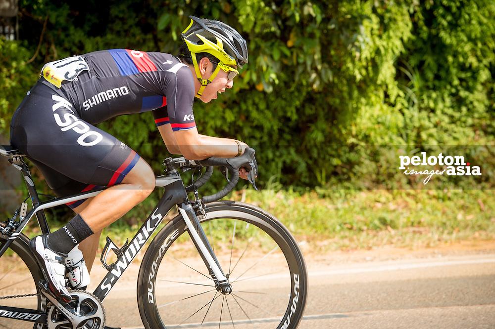 Le Tour de Langkawi 2015/ Stage5/ Kuala Terengganu -Kuanta/ KSPO/ Seo,Joon Yong