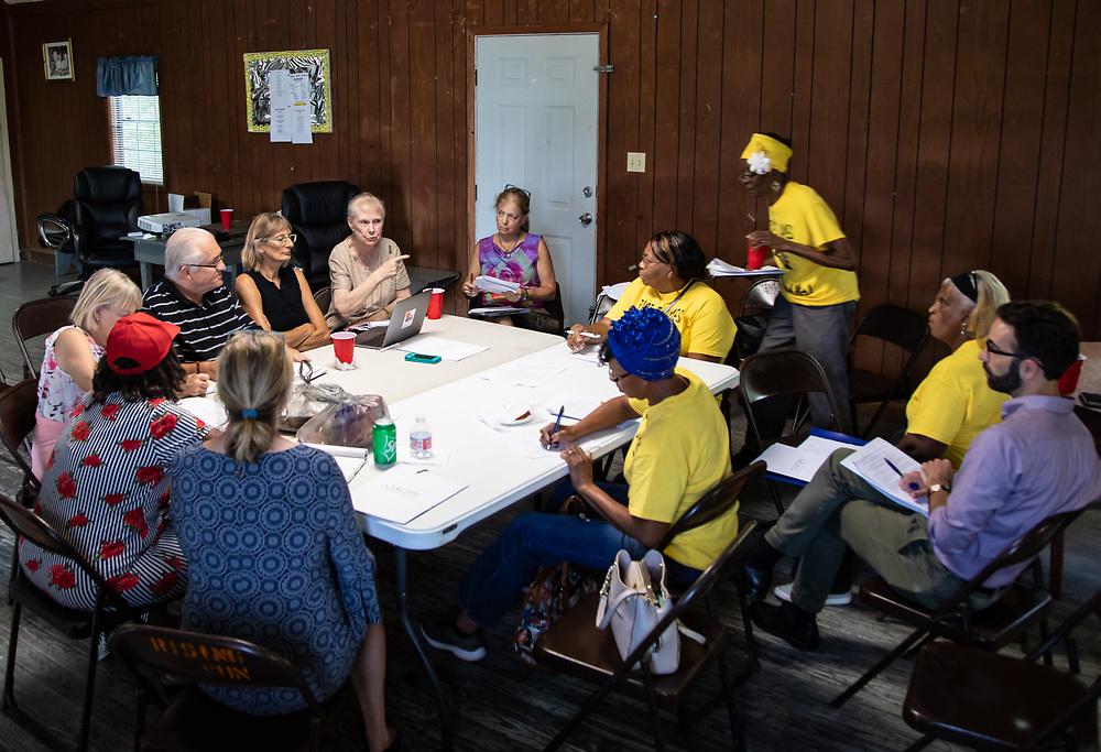 EPA air quality moniterring trainning seminar in St. James Louisiaina on August 1, 2019.