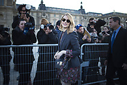 PFW Louis Vuitton Arrivals