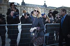 PFW Louis Vuitton Arrivals