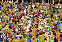 Sunday Indian market (all trading done by barter), Chinchero, Sacred Valley of the Incas, Peru