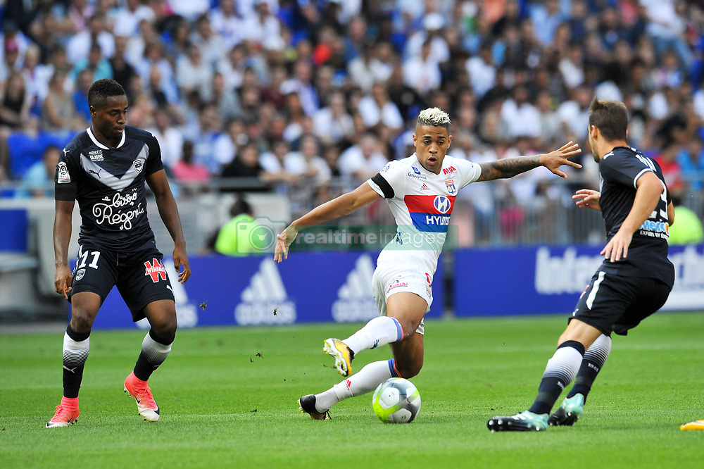 August 19, 2017 - Lyon, France - 09 Mariano DIAZ (ol) - 11 FRANCOIS KAMANO  (Credit Image: © Panoramic via ZUMA Press)
