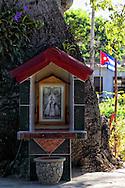 Shrine at Vegas Robaina, San Luis, Pinar del Rio, Cuba.