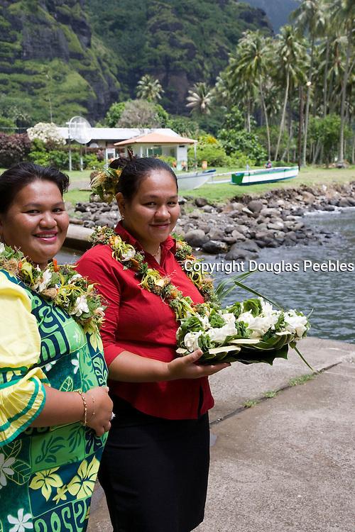 Hanavave, Island of Fatu Hiva, Marquesas Islands, French Polynesiav<br />