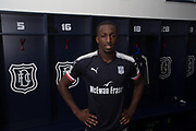 - Glen Kamara pictured after signing for Dundee at Dens Park, Dundee, Photo: David Young<br /> <br />  - &copy; David Young - www.davidyoungphoto.co.uk - email: davidyoungphoto@gmail.com