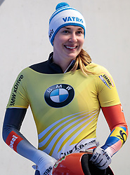15.12.2017, Olympia Eisbahn, Igls, AUT, BMW IBSF Weltcup und EM, Igls, Skeleton Damen, 2. Lauf, im Bild Jacqueline Loelling (GER) // Jacqueline Loelling of Germany during 2nd run run of women's Skeleton competition of BMW IBSF World Cup and European Championship at the Olympia Eisbahn in Igls, Austria on 2017/12/15. EXPA Pictures © 2017, PhotoCredit: EXPA/ Johann Groder