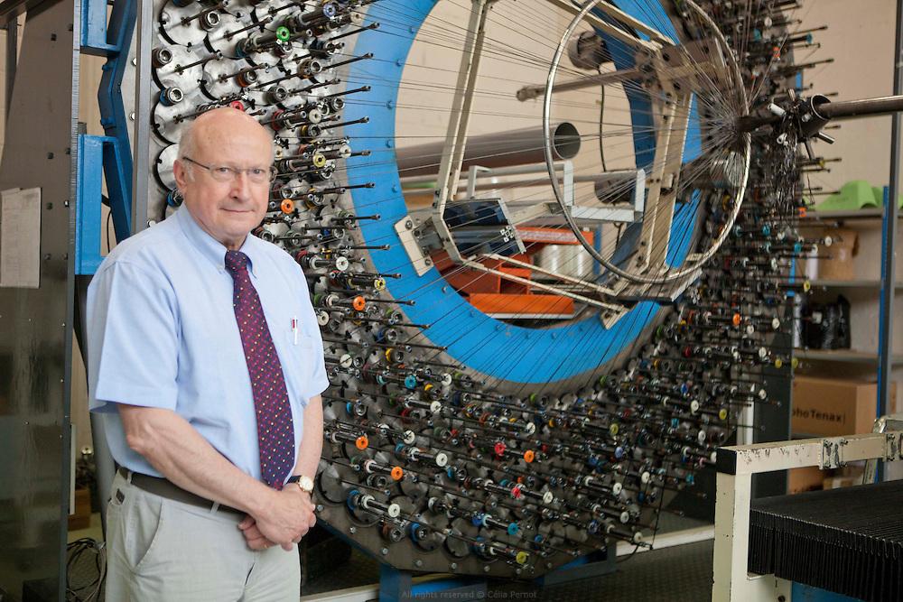 Jean-Pierre Mattei, PDG de DJP, développement de produits industriels, design industriel et usinage. Vitry sur Seine