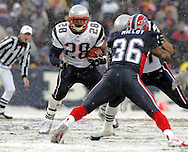 Corey Dillon, New England Patriots @ Buffalo Bills, 11 Dec 05, 1pm, Ralph Wilson Stadium, Orchard Park, NY