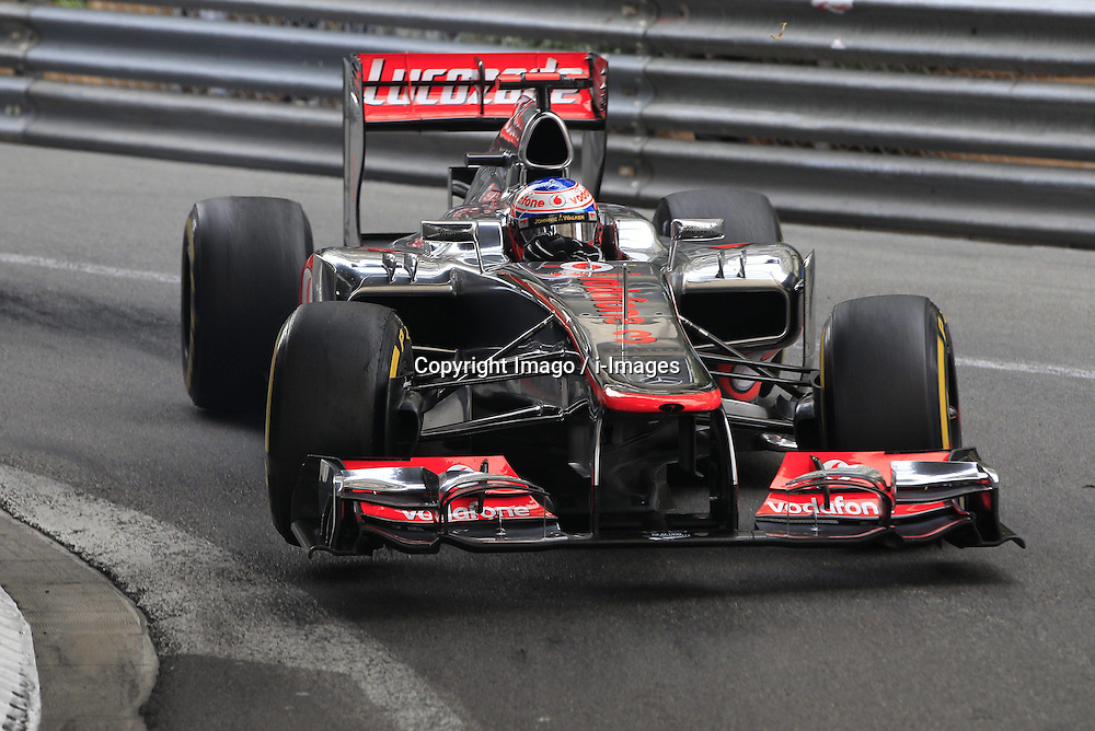 Jenson Button  at  Monaco Grand Prix, Sunday, 27th May 2012.   Photo by: Imago / i-Images