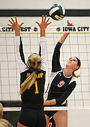 High School Volleyball - Springville vs New London - November 6, 2013