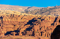 Canyon, Petra Archaeological Park (a UNESCO World Heritage Site), Petra, Jordan.