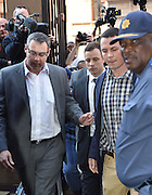 Day of Verdict In The Trial Of Oscar Pistorius<br /> <br /> Oscar Pistorius arrive in North Gauteng High Court on September 11, 2014 in Pretoria, South Africa. <br /> <br />  Judge Thokozile Masipa will deliver judgment on Oscar Pistorius for the murder of his girlfriend, model Reeva Steenkamp<br /> ©Exclusivepix