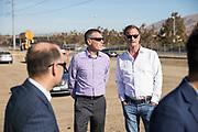 McCarthy Ranch Sprig Center groundbreaking event at McCarthy Ranch in San Jose, California, on November 2, 2018. (Stan Olszewski/SOSKIphoto)