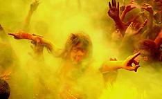 MAR 17 2014  Holi festival celebrations