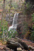 Cascade Falls in Jefferson National Forest Virginia