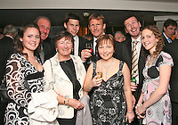 The Football Extravaganza, Teddy Sheringham receives the Legend of Football Award in aid of Nordoff Robbins..Wednesday, March 21, 2007. (Photo/John Marshall JME)