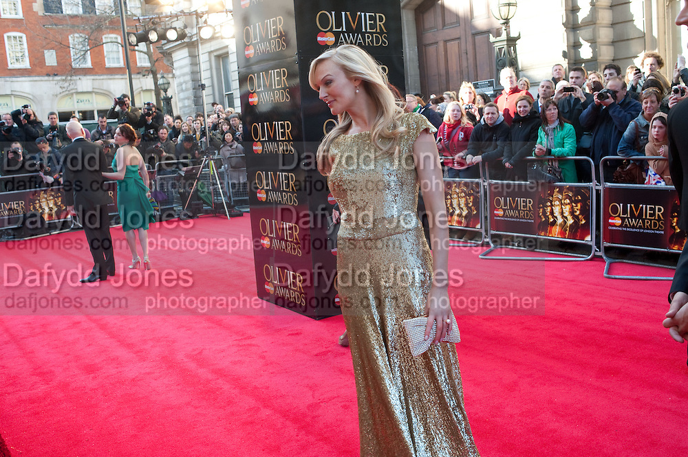 KATHERINE KINGSLEY, Olivier Awards 2012, Royal Opera House, Covent Garde. London.  15 April 2012.