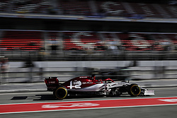 February 18, 2019 - Barcelona, Barcelona, Spain - Kimi Raikkonen from Finland with 07 Alfa Romeo Racing in action during the Formula 1 2019 Pre-Season Tests at Circuit de Barcelona - Catalunya in Montmelo, Spain on February 18. (Credit Image: © Xavier Bonilla/NurPhoto via ZUMA Press)