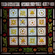 Victorian 19th century stained glass window, church of Bradfield Combust, Suffolk, England, UK - c 1869