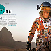 Empire Magazine July 2015 'The Martian'- Matt Damon works rests and Plays for Ridley Scott.<br />