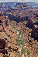 Grand Canyon's Marble canyon with a river trip on the Colorado river. San Francisco Peaks on the Skyline