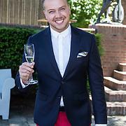 NLD/Amsterdam/20140613 - Leco van Zadelhoff organiseert samen met Beau Monde Beau Bateau een vaartocht met vriendinnen, Jamai Loman