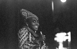 March 25, 2011 - Algiers, Algeria - Miriam MAKEBA  (South African singer and civil rights activist. - .Miriam MAKEBA ; - PanAfrican Festival ; - Algiers ; - 1969  (Credit Image: © Philippe Gras/Le Pictorium Agency via ZUMA Press)