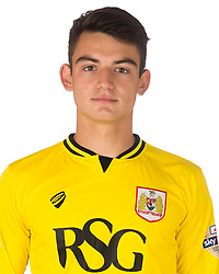 Max O'leary of Bristol City   - Mandatory byline: Joe Meredith/JMP - 07966386802 - 04/08/2015 - FOOTBALL - Bristol City Training Ground -Bristol,England - Bristol City Headshots