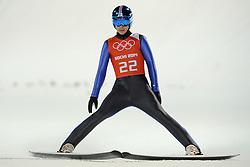 06-02-2014 SCHANSSPRINGEN: OLYMPIC GAMES: SOTSJI<br /> Training Schansspringen op het Russki Gorki Jumping Center / Janne Happonen FIN<br /> ©2014-FotoHoogendoorn.nl<br />  / Sportida