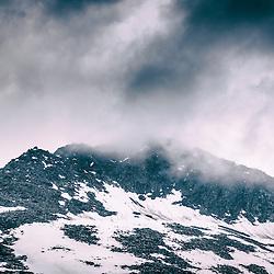 Aletsch Glacier Gegion Maerielensee in the spring June 2015