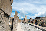 Pompeii, the destroyed forgotten and rediscovered city, is an amazing place to capture snapshots of what life was like in the past.