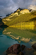 Canadian Rocky Mountains, Banff National Park, Alberta, Lake Louise reflections