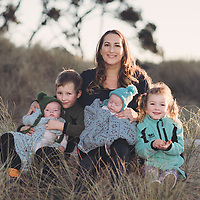 a collection of family portrait photos taken on the Coromandel by Felicity Jean Photography authentic, candid & natural portrait images of families having fun