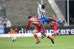 10.04.2010, Olympiastadion Berlin, GER, 1.FBL, Hertha BSC Berlin vs VfB Stuttgart im Bild Adrian Ramos (Hertha BSC Berlin #09) und Cristian Molinaro (VfB Stuttgart #21)   EXPA Pictures © 2010, PhotoCredit: EXPA/ nph/  Hammes / SPORTIDA PHOTO AGENCY