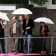 NLD/Amsterdam/20080907 - Gasten van het huwelijksfeest Nina Brink en Pieter Storms, Maurits Regenboog