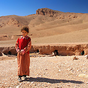 Nomad girl, Dades Valley, Morocco (November 2006)